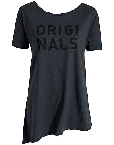 T-SHIRTS - ADIDAS ORIGINALS / SCOOP LONG TEE - NELLY.COM