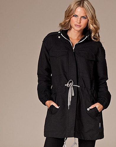 JACKETS AND COATS - ADIDAS ORIGINALS / SPORTY PARKA - NELLY.COM