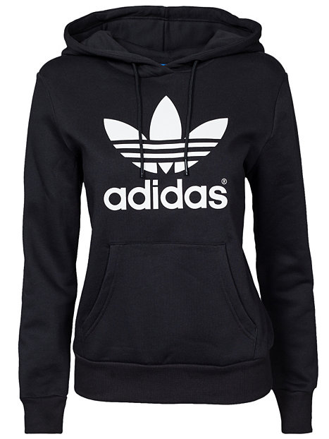 trf logo hoodie adidas originals black pullover. Black Bedroom Furniture Sets. Home Design Ideas