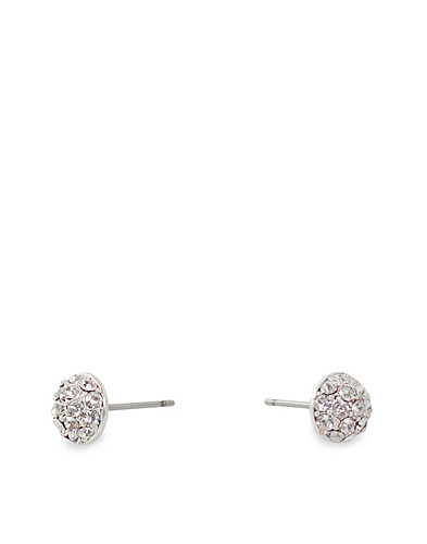 JEWELLERY - PILGRIM / ROUND CRYSTAL EARRING - NELLY.COM