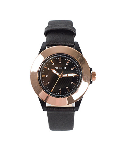 KLOCKOR - PILGRIM / LEATHER FRIDA WATCH - NELLY.COM