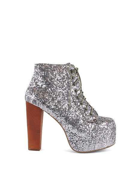lita shoe jeffrey campbell gr glitter partyschuhe. Black Bedroom Furniture Sets. Home Design Ideas