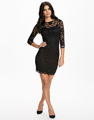 JUHLAMEKOT - JOHN ZACK / SLASH NECK LACE DRESS - NELLY.COM