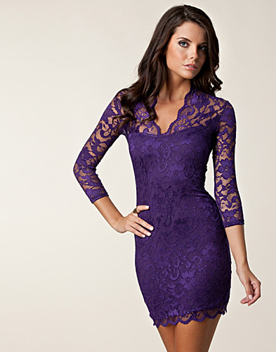 FESTKLÄNNINGAR - JOHN ZACK / PRINCESS LACE DRESS - NELLY.COM