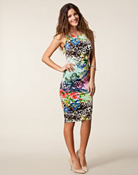 John Zack - Floral Bodycone Dress