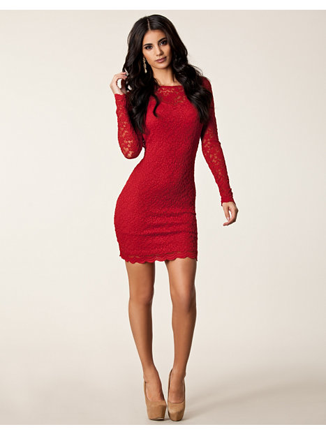 lace cut out back dress john zack red party dresses