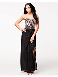 John Zack Sequin Maxi Dress