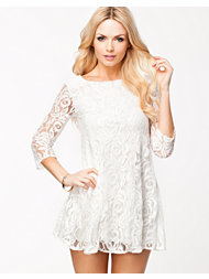 John Zack Lace Swing Dress