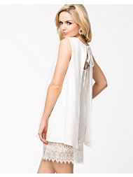 John Zack A Line Open Back Dress