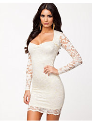 John Zack L/S Lace Dress Nelly Exclusive