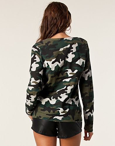 TOPS - NLY TREND / ARMY TOP - NELLY.COM