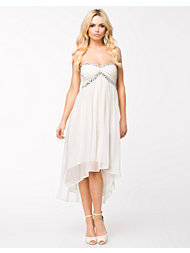 NLY Trend Bejeweled High Low Dreamy Dress