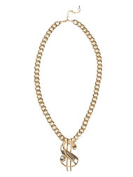 NLY Trend Dollar Necklace