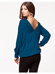 NLY Trend Open Back Shirt