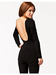 NLY Trend Deep Back Top