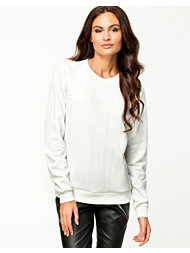 NLY Trend Quilted Sweatshirt