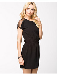 NLY Trend Mesh Shoulder Dress