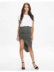 NLY Trend Draped High-Low Skirt