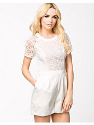 NLY Trend Upper Lace Playsuit
