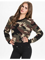 NLY Trend Camo Sweater