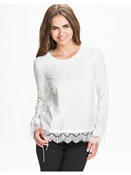 NLY Trend Lace On Lace Blouse