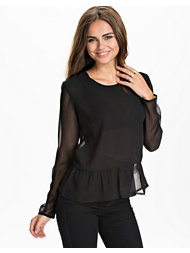 NLY Trend Low Frill Blouse