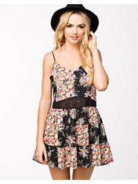 Festkjoler, Mixed Print Dress, NLY Trend - NELLY.COM