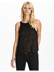 NLY Trend Beaded Top