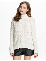 NLY Trend Chunky Polo Sweater