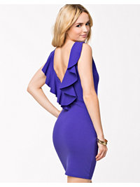 Juhlamekot, Back Flounce Dress, NLY Trend - NELLY.COM