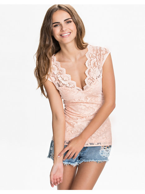 Scalloped Lace Top Scallop Lace Top Nly Trend