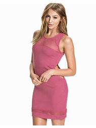 NLY Trend Mesh Jersey Dress