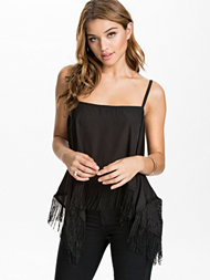 NLY Trend Square Fringe Top