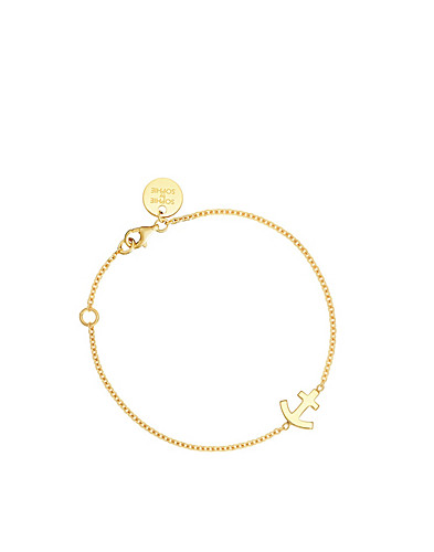 SMYKKER - SOPHIE BY SOPHIE / ANCHOR BRACELET - NELLY.COM