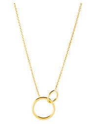 SOPHIE By SOPHIE Two Circle Necklace