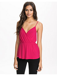 Topper, Wrap Peplum Top, NLY Trend - NELLY.COM