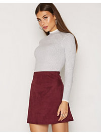 Kjolar, A Lined Suede Like Skirt, NLY Trend - NELLY.COM