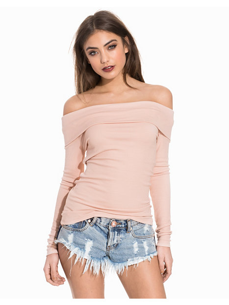 Overfold Ribbed Top