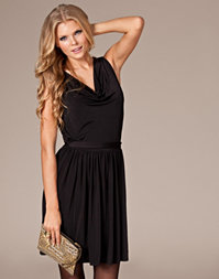 Pearl - Draped Pleat Dress