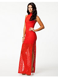 Pearl Lace Maxi Dress