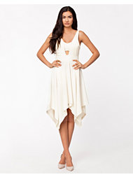 Carin Wester Agusta Cream Dress