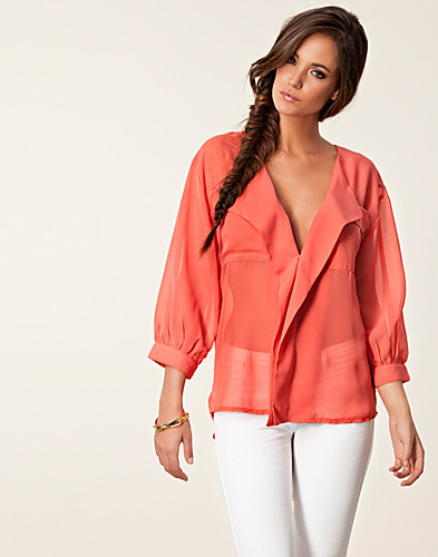 BLOUSES & SHIRTS - DRY LAKE / JENNIE BLOUSE - NELLY.COM