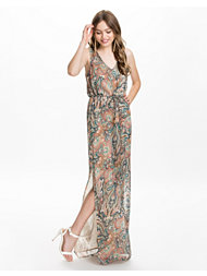 Dry Lake Savanna Print Dress