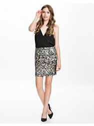 Dry Lake Bibbi Sequin Skirt