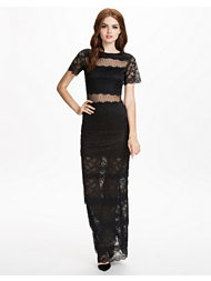 Dry Lake Love Long Lace Dress