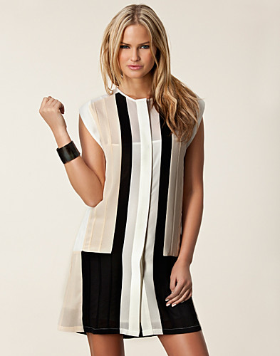 KLÄNNINGAR - THE WARDROBE / NARDA BLOCK DRESS - NELLY.COM