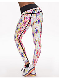 Drop Of Mindfulness Bow Yoga Leggings