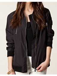 Fifth Avenue Shoe Repair Long Bomber Jacket