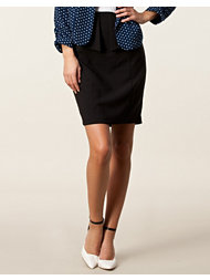 Awear Double Wrap Peplum Skirt