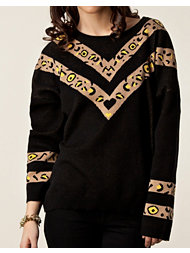 Mad Love Leo Necklace Jumper